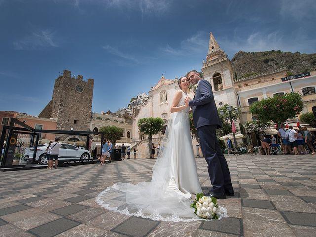 Il matrimonio di Alessia e Pasquale a Taormina, Messina 1