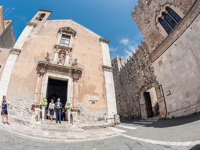 Il matrimonio di Alessia e Pasquale a Taormina, Messina 11