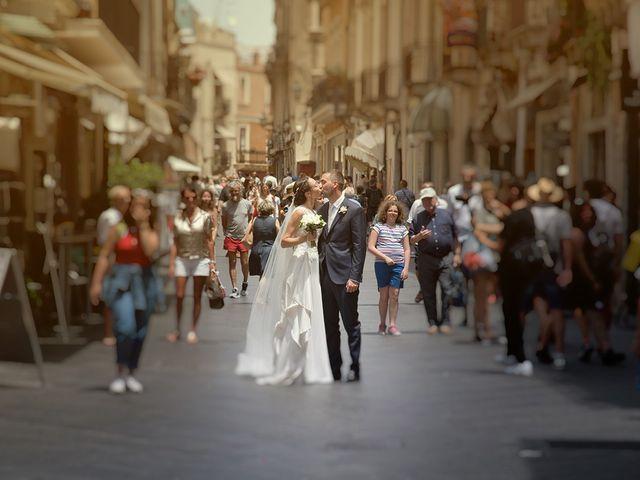 Il matrimonio di Alessia e Pasquale a Taormina, Messina 18