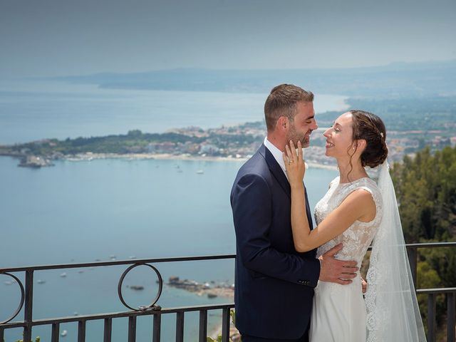 Il matrimonio di Alessia e Pasquale a Taormina, Messina 19