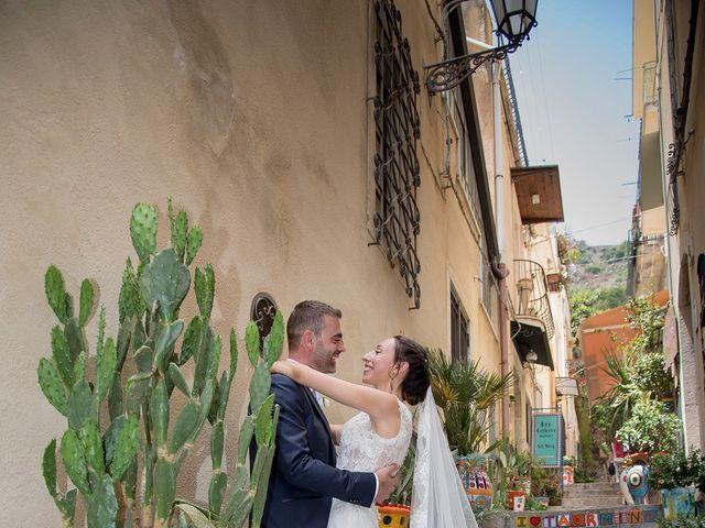 Il matrimonio di Alessia e Pasquale a Taormina, Messina 20