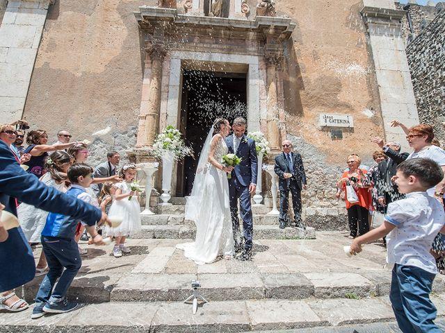 Il matrimonio di Alessia e Pasquale a Taormina, Messina 21