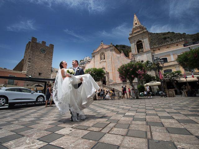 Il matrimonio di Alessia e Pasquale a Taormina, Messina 22