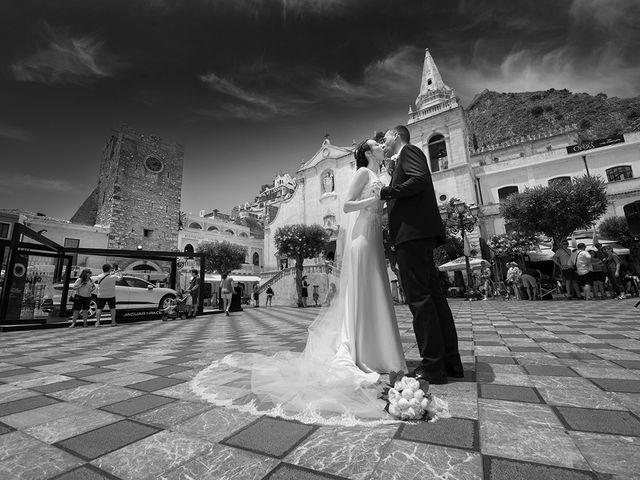 Il matrimonio di Alessia e Pasquale a Taormina, Messina 23