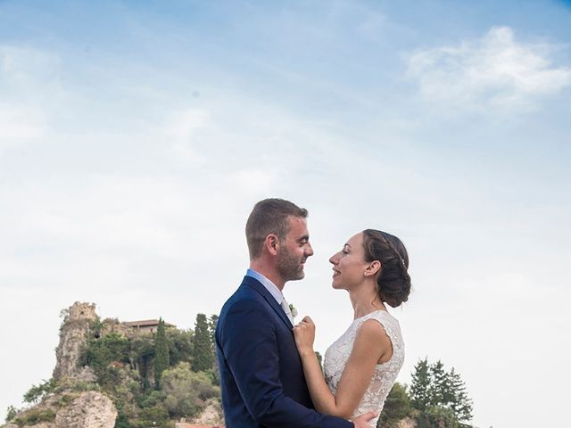Il matrimonio di Alessia e Pasquale a Taormina, Messina 25