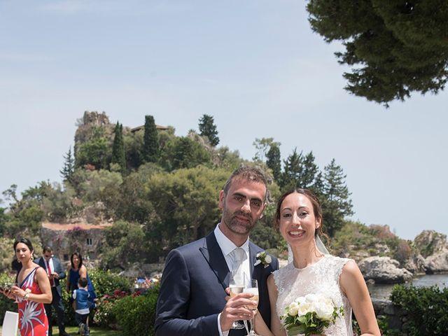 Il matrimonio di Alessia e Pasquale a Taormina, Messina 28