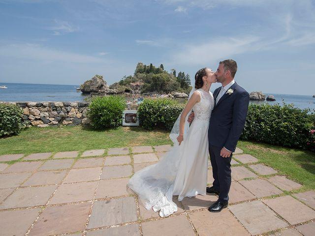 Il matrimonio di Alessia e Pasquale a Taormina, Messina 32