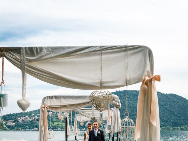Il matrimonio di Rosario e Francesca a Sarnico, Bergamo 28