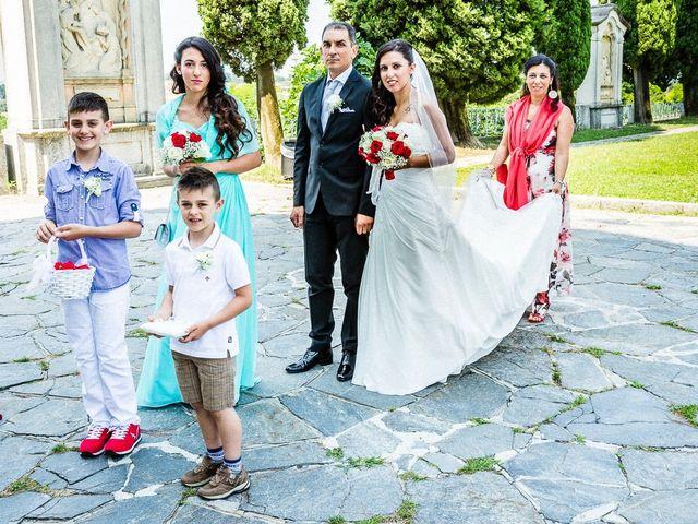 Il matrimonio di Mattia e Ilenia a Costa Masnaga, Lecco 22