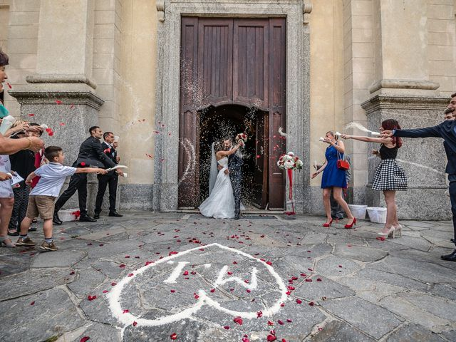 Il matrimonio di Mattia e Ilenia a Costa Masnaga, Lecco 34