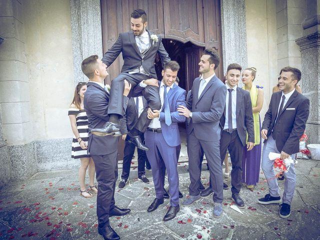 Il matrimonio di Mattia e Ilenia a Costa Masnaga, Lecco 36