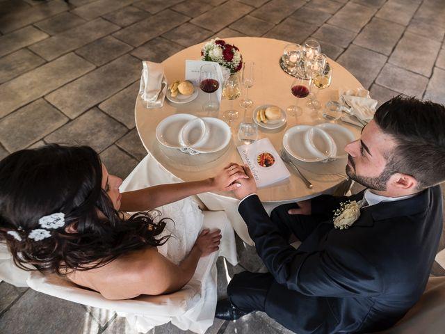 Il matrimonio di Mattia e Ilenia a Costa Masnaga, Lecco 43