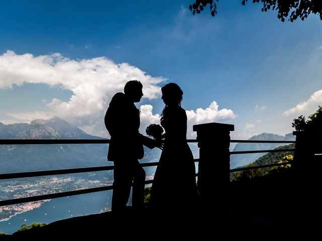 Il matrimonio di Mattia e Ilenia a Costa Masnaga, Lecco 49