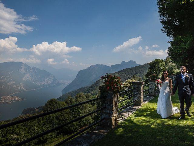 Il matrimonio di Mattia e Ilenia a Costa Masnaga, Lecco 50