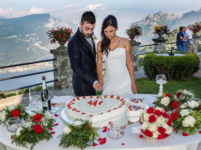 Il matrimonio di Mattia e Ilenia a Costa Masnaga, Lecco 54