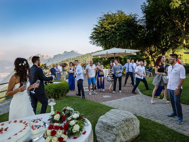 Il matrimonio di Mattia e Ilenia a Costa Masnaga, Lecco 55