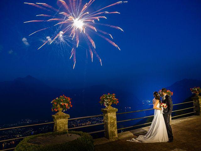 Il matrimonio di Mattia e Ilenia a Costa Masnaga, Lecco 59