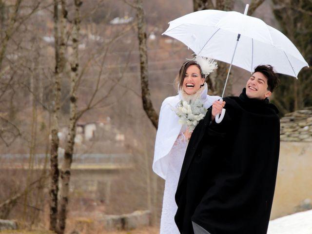 Il matrimonio di Marco e Aurora a Alagna Valsesia, Vercelli 26