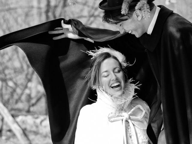 Il matrimonio di Marco e Aurora a Alagna Valsesia, Vercelli 29