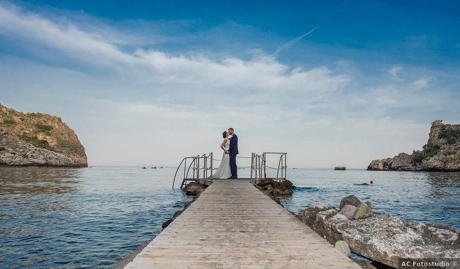 Il matrimonio di Alessia e Pasquale a Taormina, Messina