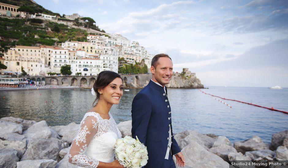 Il matrimonio di Giovanni e Annalisa a Amalfi, Salerno