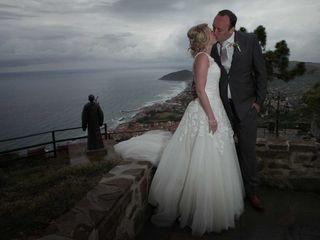 Le nozze di Gayle e Tim