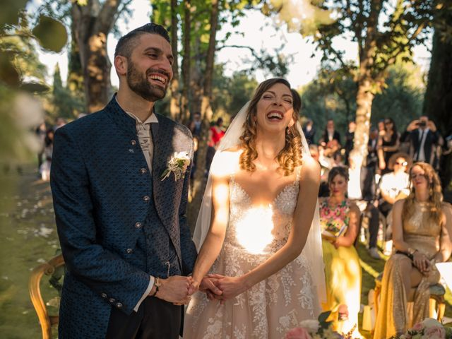 Il matrimonio di Francesco e Eleonora a Soriano nel Cimino, Viterbo 16