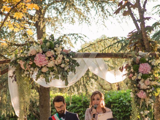 Il matrimonio di Francesco e Eleonora a Soriano nel Cimino, Viterbo 17
