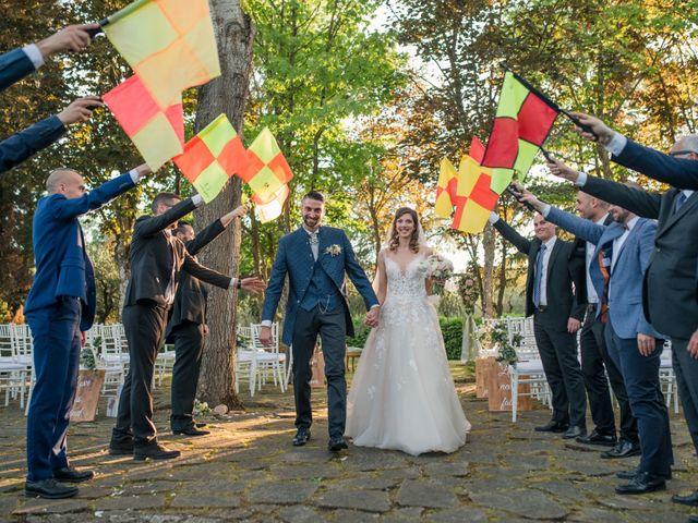Il matrimonio di Francesco e Eleonora a Soriano nel Cimino, Viterbo 18