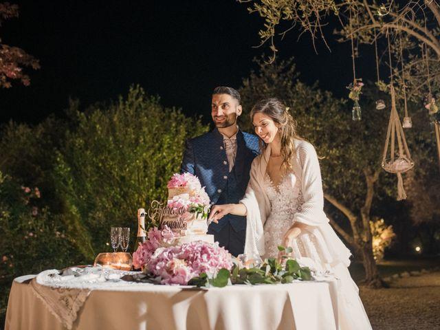 Il matrimonio di Francesco e Eleonora a Soriano nel Cimino, Viterbo 34