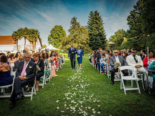 Il matrimonio di Simone e Yadira a Monvalle, Varese 22
