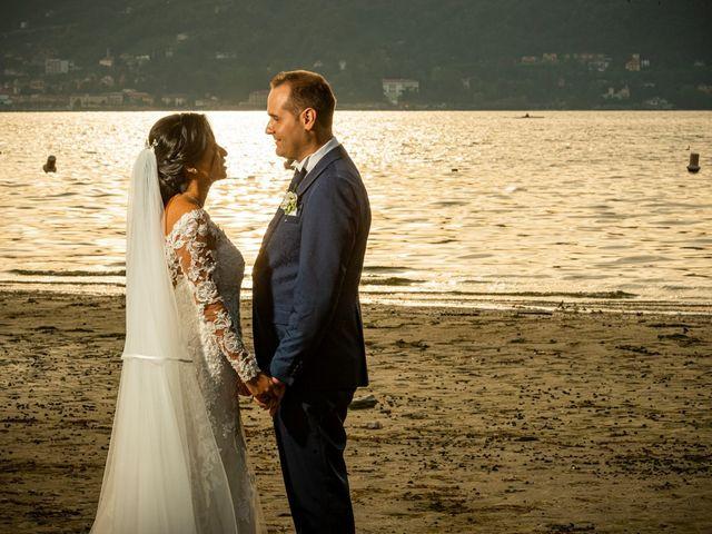Il matrimonio di Simone e Yadira a Monvalle, Varese 35