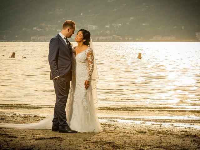 Il matrimonio di Simone e Yadira a Monvalle, Varese 37
