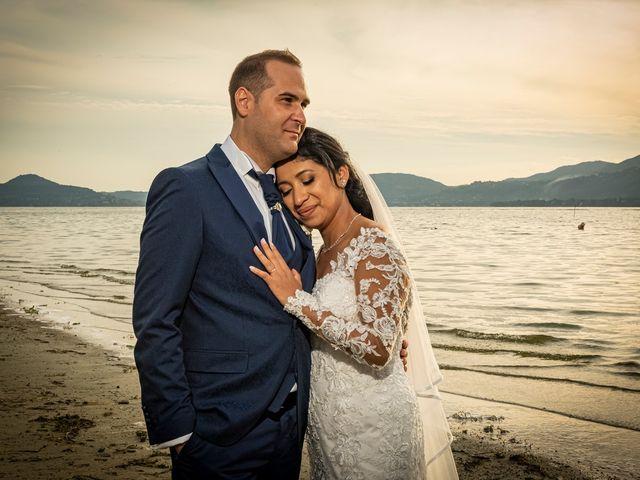 Il matrimonio di Simone e Yadira a Monvalle, Varese 38