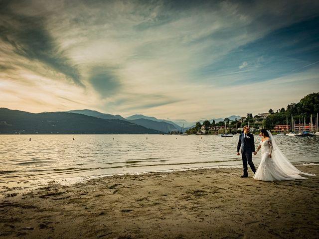 Il matrimonio di Simone e Yadira a Monvalle, Varese 41