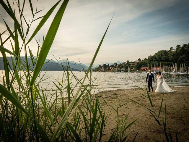 Il matrimonio di Simone e Yadira a Monvalle, Varese 42
