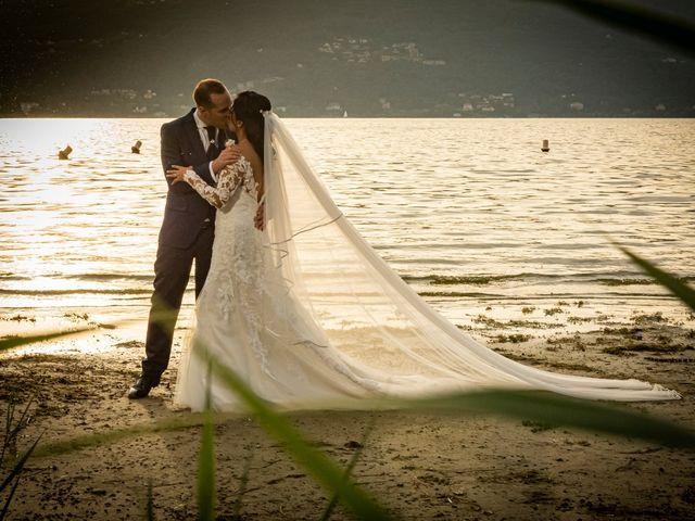 Il matrimonio di Simone e Yadira a Monvalle, Varese 43