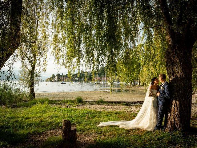 Il matrimonio di Simone e Yadira a Monvalle, Varese 46