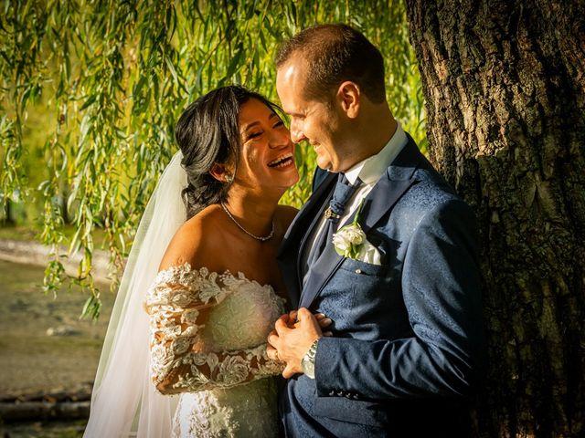 Il matrimonio di Simone e Yadira a Monvalle, Varese 47