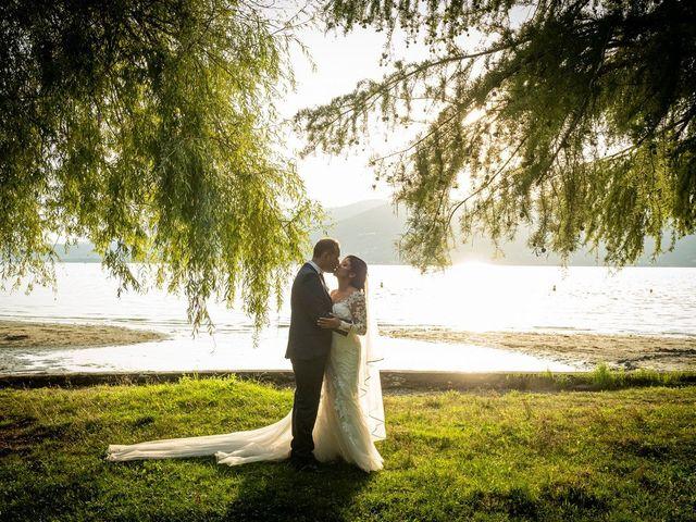 Il matrimonio di Simone e Yadira a Monvalle, Varese 48