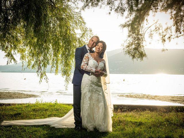Il matrimonio di Simone e Yadira a Monvalle, Varese 49
