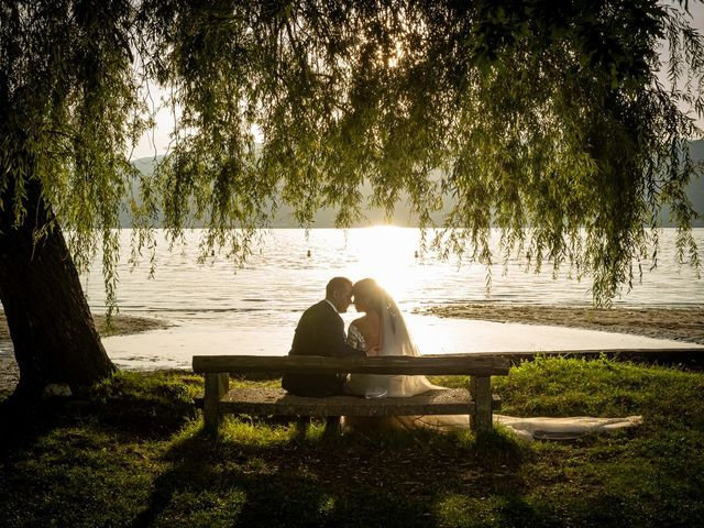 Il matrimonio di Simone e Yadira a Monvalle, Varese 50