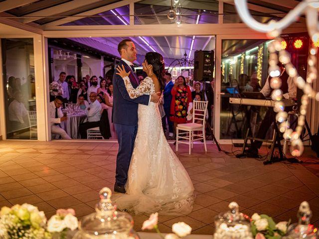 Il matrimonio di Simone e Yadira a Monvalle, Varese 63