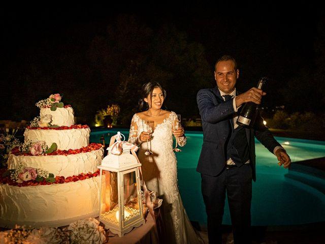 Il matrimonio di Simone e Yadira a Monvalle, Varese 72