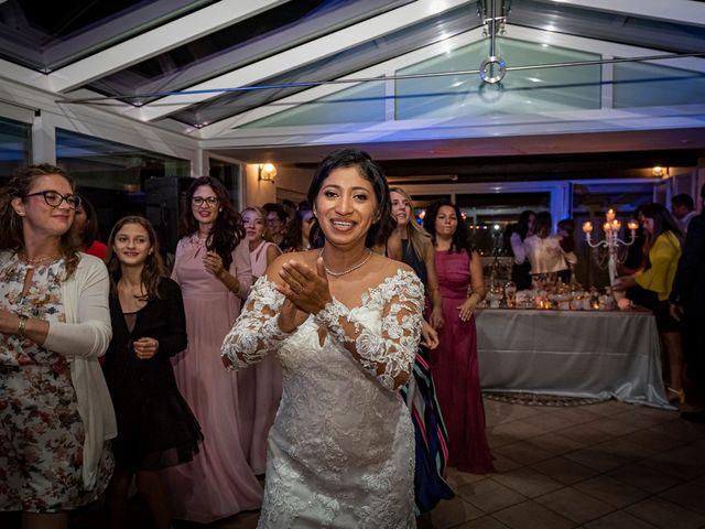 Il matrimonio di Simone e Yadira a Monvalle, Varese 75