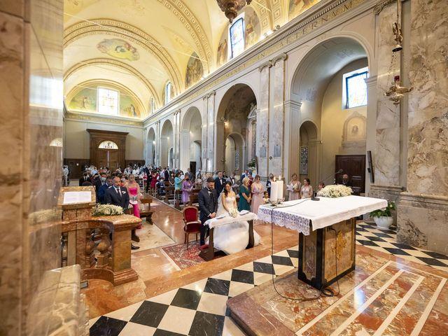 Il matrimonio di Mattia e Jessica a Carnago, Varese 20