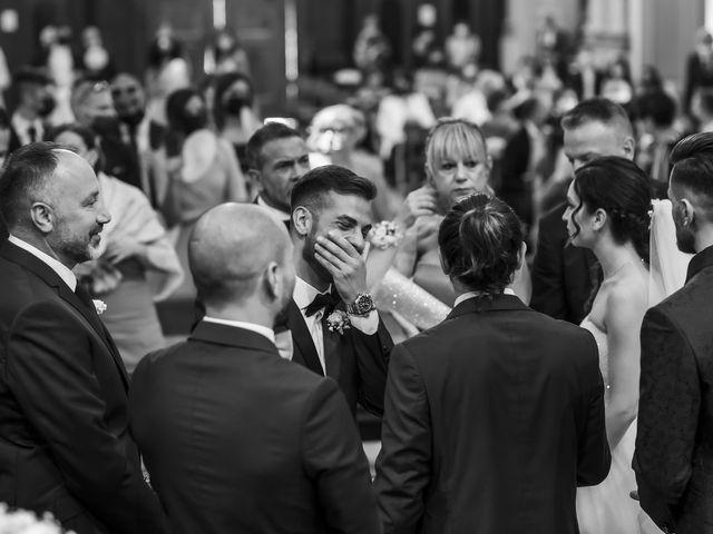 Il matrimonio di Mattia e Jessica a Carnago, Varese 29