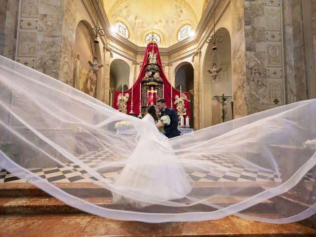Il matrimonio di Mattia e Jessica a Carnago, Varese 35