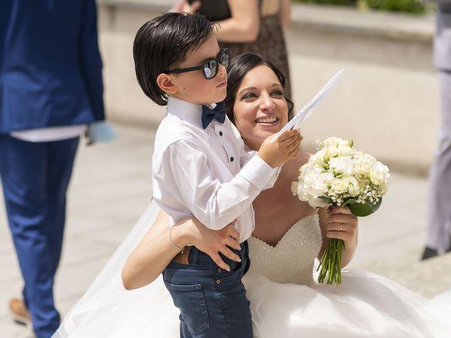 Il matrimonio di Mattia e Jessica a Carnago, Varese 36