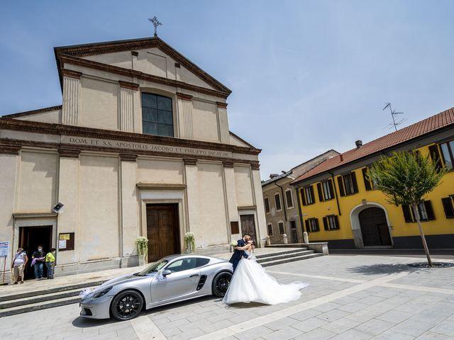 Il matrimonio di Mattia e Jessica a Carnago, Varese 39